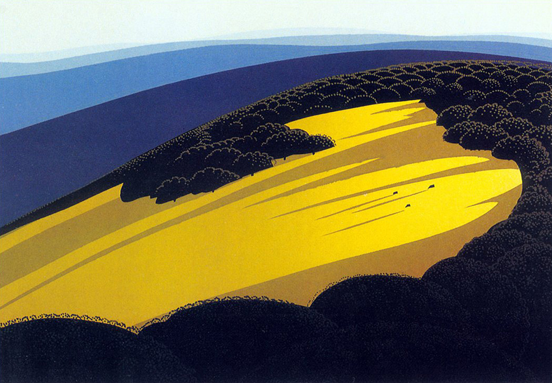 Valley eyvind earle