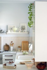 ~ kitchen bliss (Iro {Ivy style33}) Tags: white ikea kitchen beige greece lightblue designedbyme modernmeetsclassic interiorsphotographybyivy apart44 ~kitchenbliss peneshelves