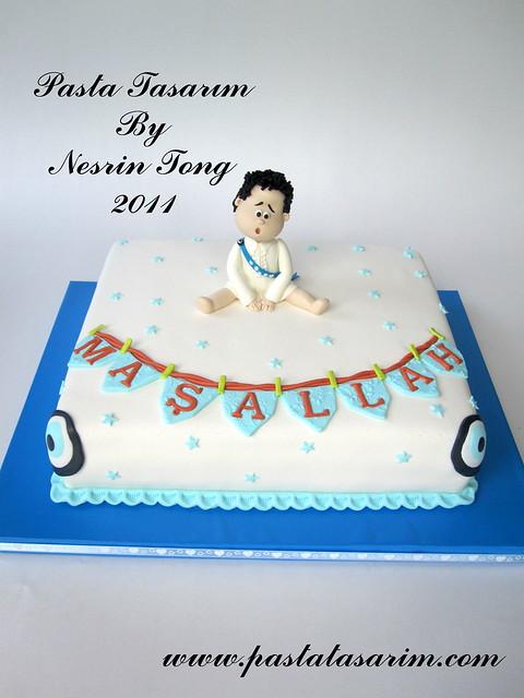 "MY SON ""SUNNET"" CAKE"