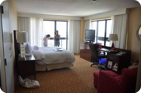 Our room at the Ottawa Marriott