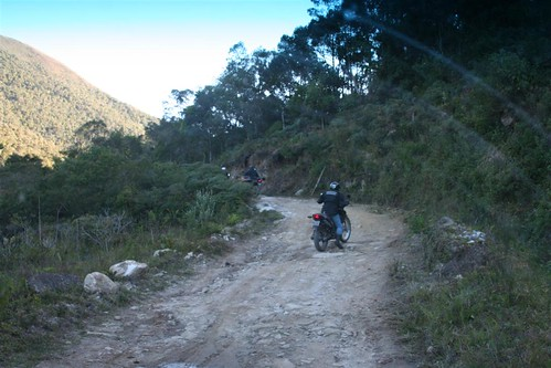 Mirantes Mototravel Weekend Trip: the more rugged kind of road.
