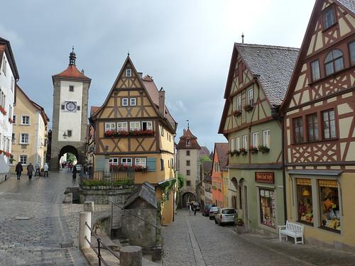 Středověký Rothenburg ob der Tauber: aneb Jak der Meistertrunk zachránil město