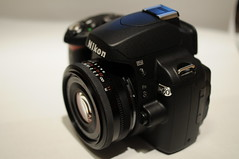 Nikon D60 + Voigtlander Ultron 40mm f2.0 (digitalbear) Tags: japan lens tokyo nikon voigtlander digitalcamera pancake 40mm digitalslr compact d60 f20 ultron