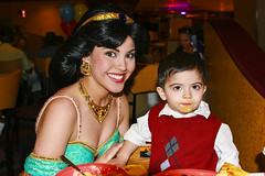 Louis and Princess Jasmine (FrogMiller) Tags: birthday family smile smiling fun happy louis funny princess disneyland jasmine smiles adorable disney cutie jasmin myson happybirthday fatherandson anaheim aladdin disneyprincess disneylandhotel characterdining disneylandresort disneydining