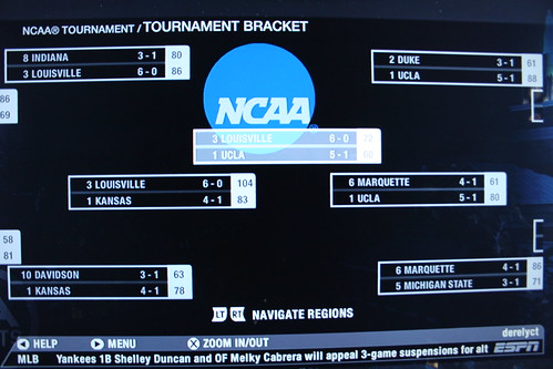 NCAA 08 March Madness simulation