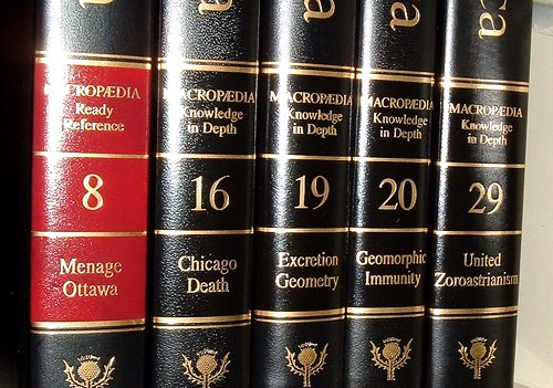 Encyclopedia Britannica volumes