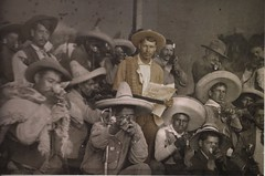 militia men from the Mexican revolution (archival photograph from Ringside Seat to a Revolution) (this ordinary life) Tags: mexico villa zapata mexicanrevolution revolucionarios cincopuntospress revolucionmexicana casasola thisordinarylife ringsideseattoarevolution mexicanmilitia