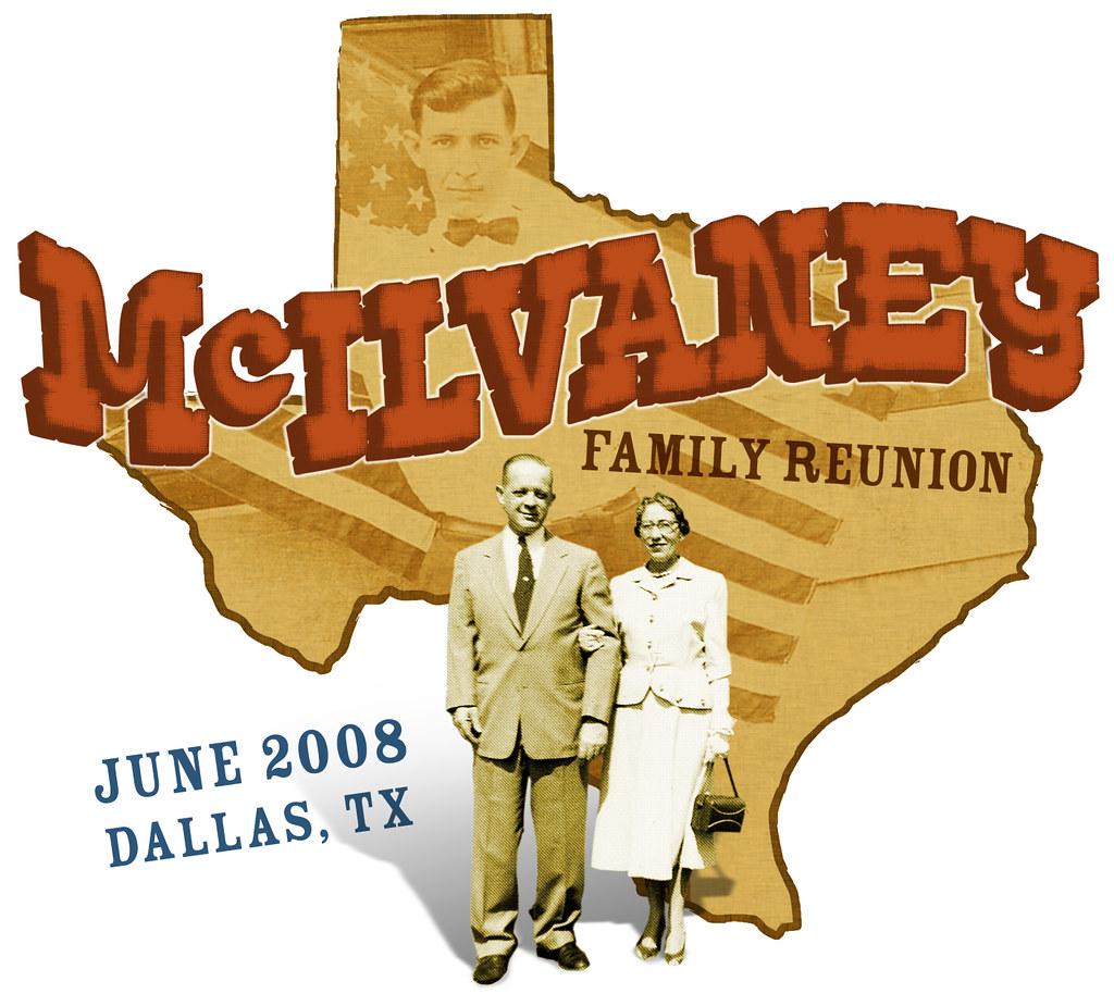 McIlvaney Family Reunion Tee - 2008