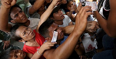 rice queues philippines