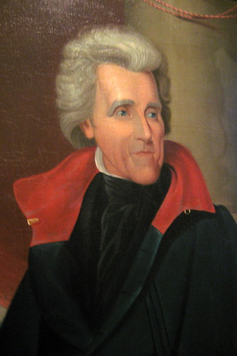 Philadelphia - Old City: Second Bank Portrait Gallery - Andrew Jackson by wallyg.
