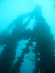 Mast of the Iro Wreck