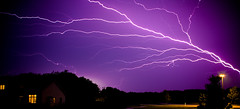 Lightning 3 (Loren Zemlicka) Tags: storm wisconsin night bolt thunderstorm lightning thunder fitchburg flickrexplore wisconsinthunderstorms