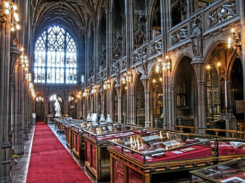 John Ryland's Library - old reading room