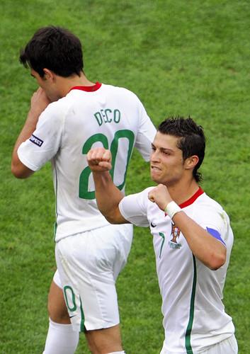 Cristiano Ronaldo 2008 Cristiano Ronaldo Celebrates