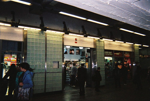 Record Store at Times Square station