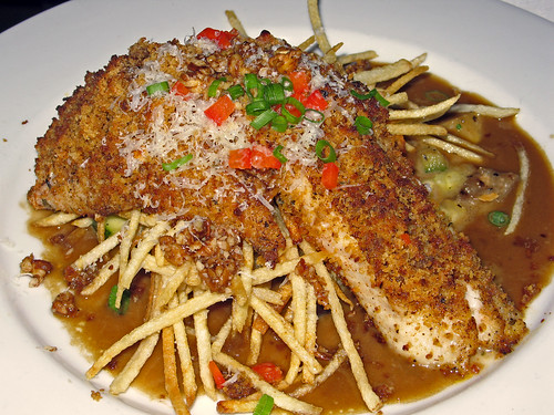 Andouille-Crusted  Texas Redfish