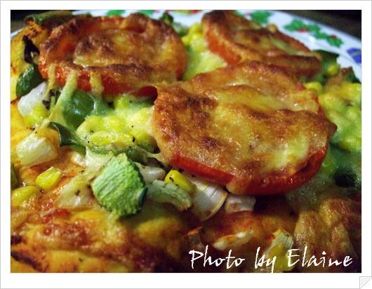 青椒玉米pizza