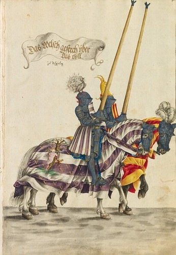 16-Gestecharten y la raza del torneo a caballo, 5r