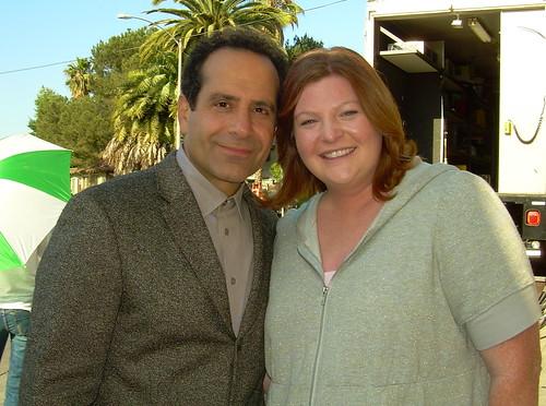 Tony Shalhoub and Heather Brooker