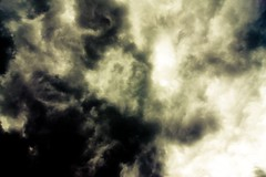 The sky is falling in. (Bart Michiels) Tags: sky white black clouds contrast dark atmospheric apocalyps