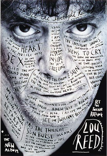 Lou Reed, by the masterful Mr. Sagmeister