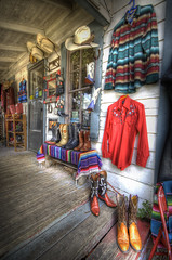 Wild West Store Porch