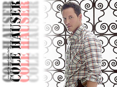 Cole Hauser (♫♥Angel Eyes♥♫) Tags: wallpaper white window face movie gun cops background neworleans handsome hollywood pistol actor paparazzi gaze kville fretwork 1024x768 whiteoleander pitchblack angeleyes colehauser patterning tearsofthesun hartswar