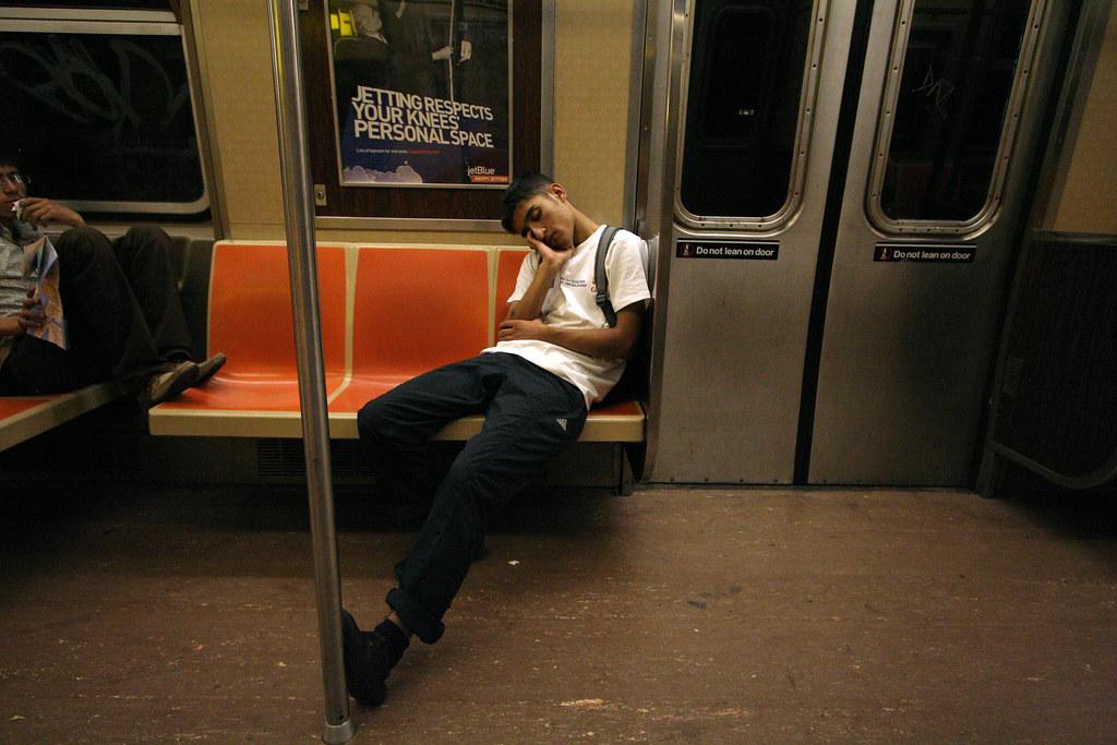 F train snooze