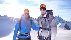 Cosmiques Arte - setting off (chaletlaforet) Tags: mountaineering chamonix aiguilledumidi cosmiquesarte