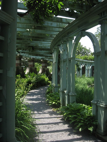Pergola in Walled Garden