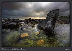 Cloudy morning at Ogmore Beach (opobs) Tags: sky beach water southwales wales river seaside sand 1000 ogmore valeofglamorgan bridgend rockpool ogmorebysea riverogmore wetknees perfectangle dapagroup ogmorebeach dapagroupmeritaward dapagroupmeritaward2 michaelstokes opobs goldenvisions traethogwr