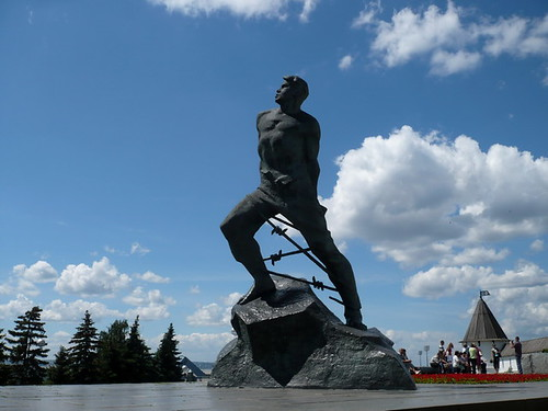 Musa Dzhalil monument in Kazan