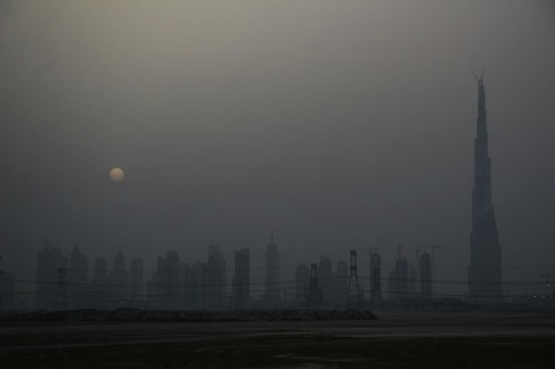 Dubai Skyline by Tom Olliver.