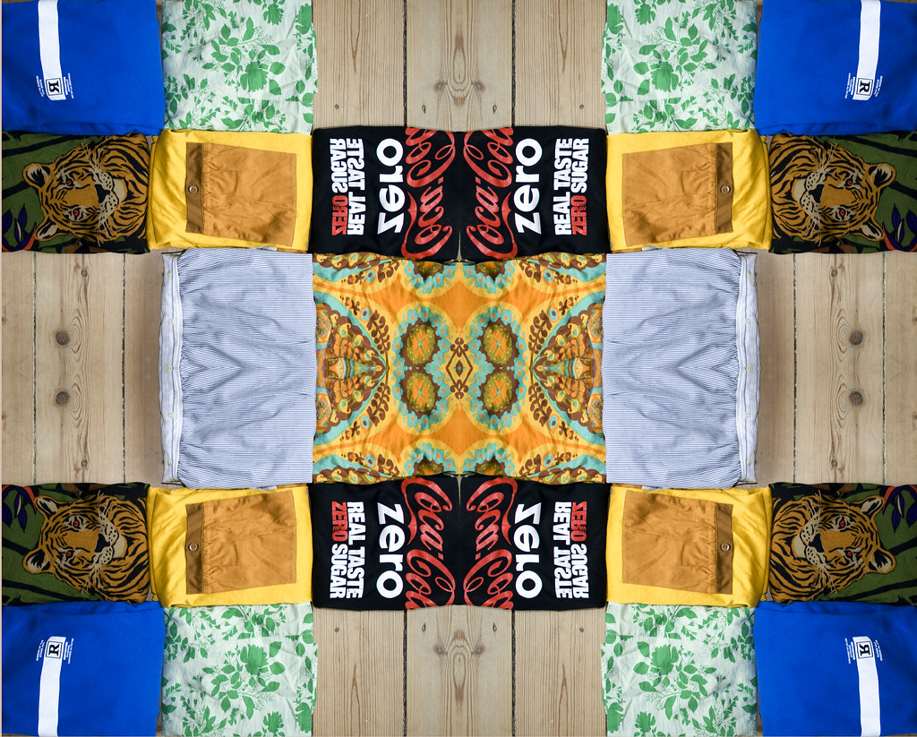 Clothing patchwork & mosaic