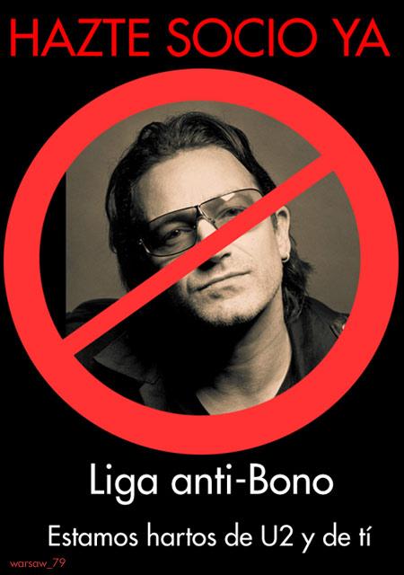 Bono, ¡retirate!