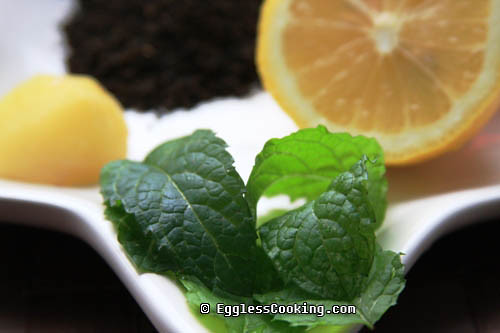 Iced Mint Tea Ingredients