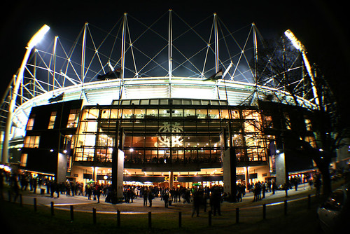 The MCG lit up at night gets me aroused