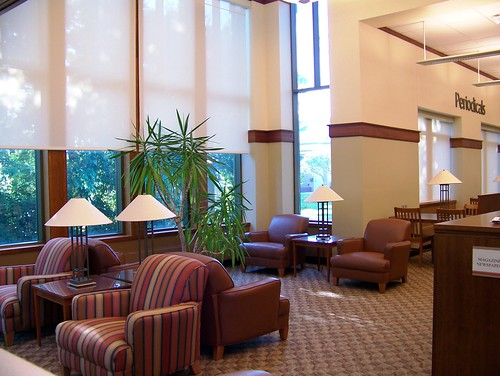 Iowa Falls Library sitting area
