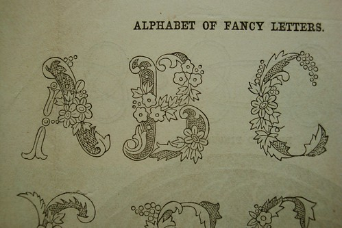 Fancy alphabet