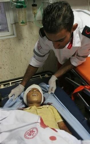 Ahmad, shot in the head