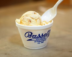 Bassett's Pralines and Cream Ice Cream