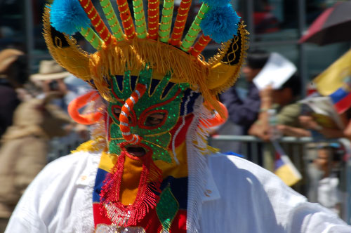 Día de la Independencia ecuatoriana en Nueva York.