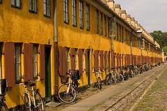Nyboder (Patrick Costello) Tags: d50 copenhagen denmark bicycles explore kbenhavn nyboder balticcruise