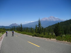 Mt. Shasta from Castle Lake road