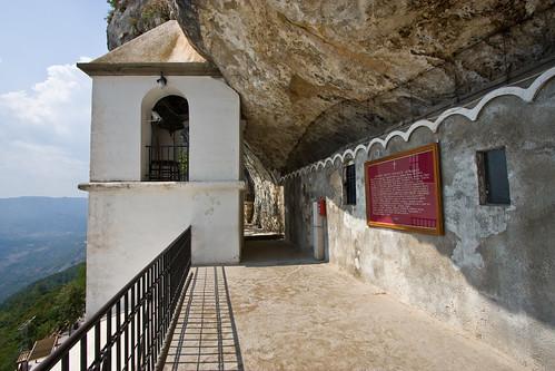 The Ostrog Monastery, Montenegro オストログ修道院