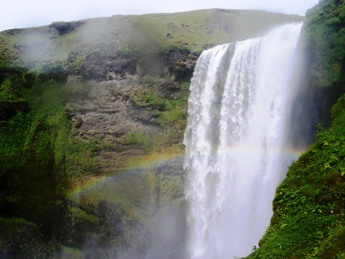 Regenbogen am Skogarfoss