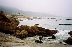 leocarrillo-t21 (fotonomous) Tags: ocean beach water 35mm malibu pch pacificocean southerncalifornia tidepool contaxt2 leocarrillostatepark lydiamarcus fotonomous httpfotonomousblogspotcom theleocarrillotidepoolinmalibuisoneofmyfavoriteplacesonearth