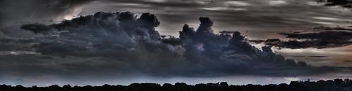 Calhoun Clouds Pseudo HDR Pano