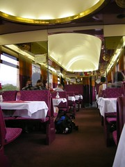 Dining Car (Lindsay Martin) Tags: train 70s dining