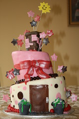 Topsy-turvy house (irresistibledesserts) Tags: house whimsical topsy turvy